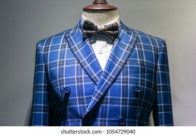 luxury suit in store