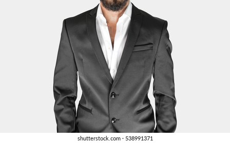 Luxury Suit without Tie