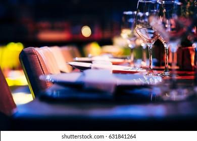 Luxury Table setting,