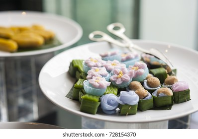 Thai party images stock photos vectors shutterstock luxury thai sweet dessert in dinner party forumfinder Choice Image