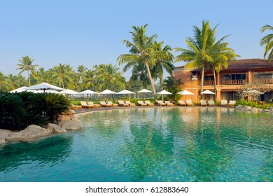 Luxury tropical resort for honeymoon in South Goa, India - February 21, 2015