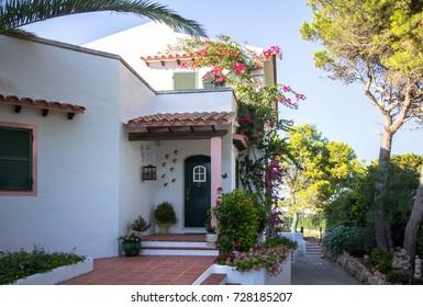 Luxury tropical villa on Menorca, Spain
