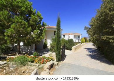 Luxury villa in a mountain resort