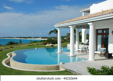 Luxury Villa Pool Saint Martin