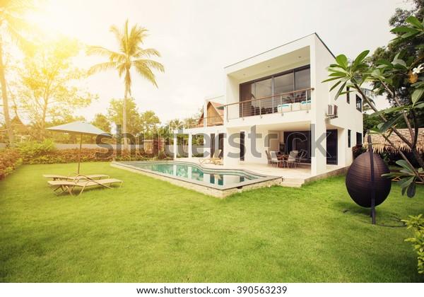 Luxus Villa Resort Interieur