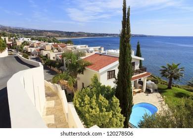 Luxury villas by the sea