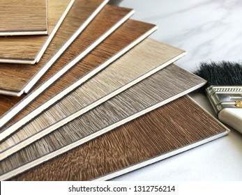 Luxury vinyl wood planks tiles for flooring decorate design idea