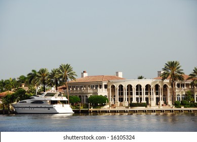 Luxury Waterfront Mansion in Fort Lauderdale
