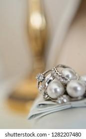 luxury wedding rings with diamonds