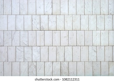 Luxury white marble tiles from Italy