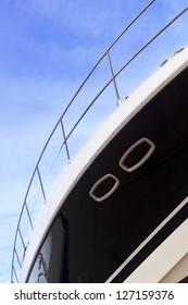 Luxury yacht detail