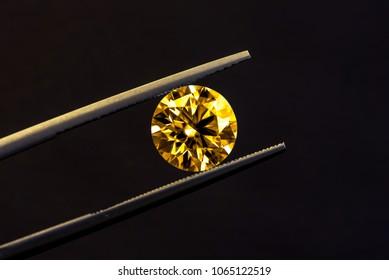 Luxury Yellow Diamond