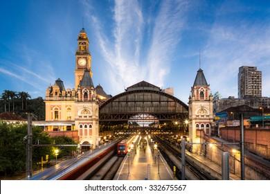 Luz Train Station - Sao Paulo - Brazil