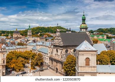 Lviv historical city center, Ukraine, Western Ukraine