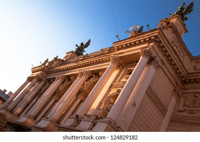 Lviv Opera and Ballet Theater, Lviv, Ukraine