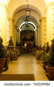 Lviv, UKRAINE - 04.10.2017: Night Lviv