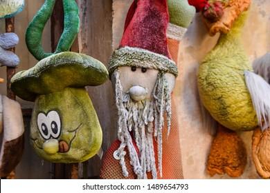 Lviv / Ukraine - 08 08 2019 : Yard of Lost Toys - Lviv