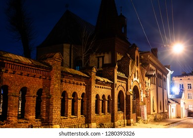 Lviv, Ukraine - January 5, 2018: Church of Our Lady of Perpetual Help in Lviv