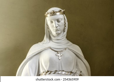 LVIV, UKRAINE - NOVEMBER 8, 2014: Interior of Cathedral of Saints Olga and Elizabeth. Cathedral was built in memory of the popular Empress (Princes) Bavarian Elizabeth (Habsburg), known as Sisi.