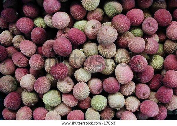 Lychees -- fruits from Asia