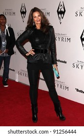 "Lynda Carter at the ""Skyrim"" Official Launch Party, Belasco Theater, Los Angeles, CA 11-08-11"