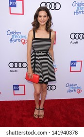 Lyndsy Fonseca at the 1st Annual Children Mending Hearts Style Sunday, Private Location, Beverly Hills, CA 06-09-13