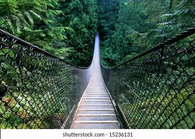 Lynn Canyon Suspension Bridge, North Vancouver, Canada