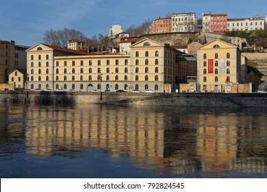 LYON, FRANCE, January 13, 2018 : Les Subsistances is a cultural centre of diffuse artistic production. Since 2007, it has housed a creative laboratory and the Ecole Nationale des Beaux-Arts.