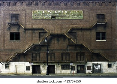 The Lyric Theater opened 1914 as a vaudeville theatre. It was segregated  African-Americans sat separately balcony.  Stars such as  Jack Benny,  Mae West, Sophie Tucker, appeared here.