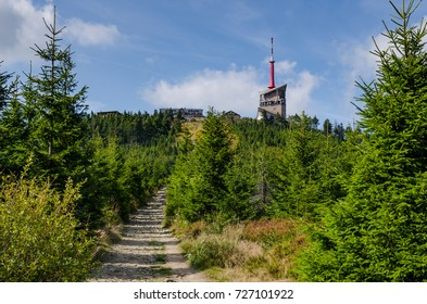 Lysa hora, Lysa peak, Transmitter, Beskydy mountain range, Czech Republic