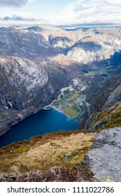 Lysebotn Lysefjord Kjerag hiking mountains fall