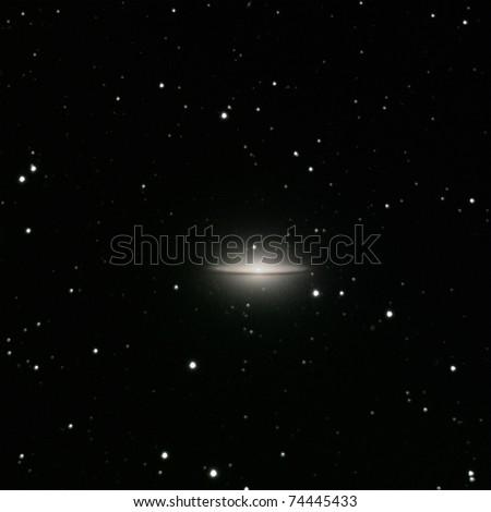 M 104 Sombrero Galaxy Stock Photo Edit Now 74445433 Shutterstock