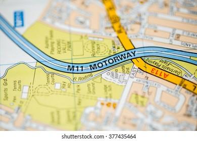 motorway map uk