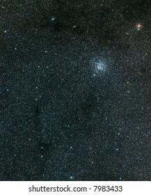M11 open cluster in Scutum