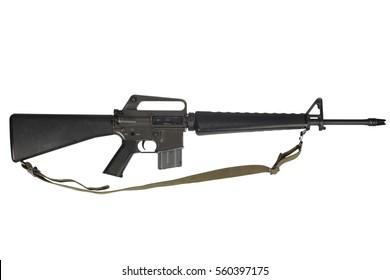 M16 rifle with 20-round magazine Vietnam War period