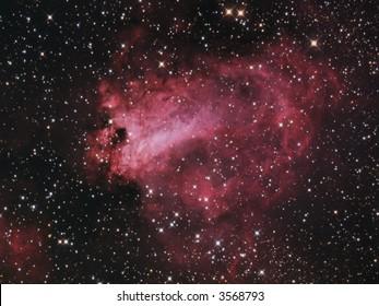 M17 Omega Nebula in Sagittarius