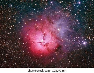 M20 Trifid Nebula in Sagittarius