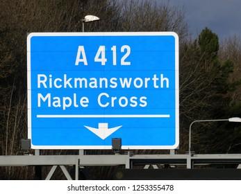 A412 road