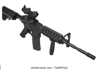 M4 Assault Rifle With Acog
