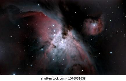 M4 - Orion Nebula Core - Trapezium