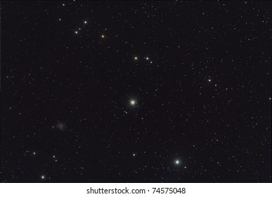 M53 Star Cluster and Star Field