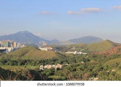 the Ma Tso Lung at North East New Territories, Hong Kong