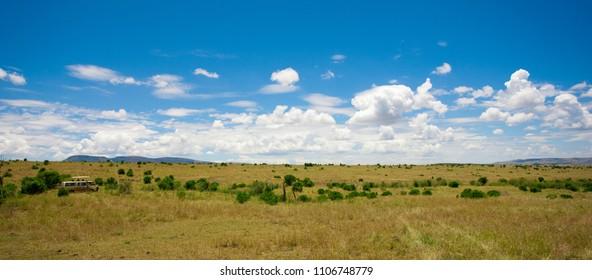 The Maasai Mara National Reserve in Kenya