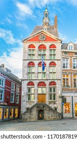 Maastricht, The Netherlands - June 16th 2018, Tourist office located at the former townhall in the center of Maastricht
