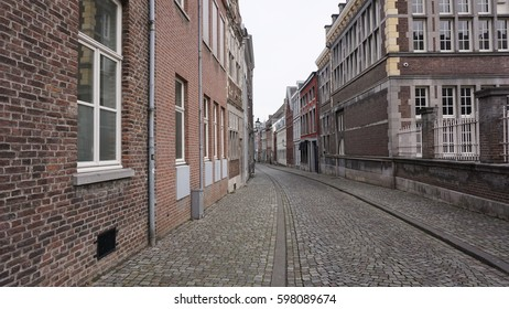 MAASTRICHT, NETHERLANDS - MARCH 8, 2017: City centre