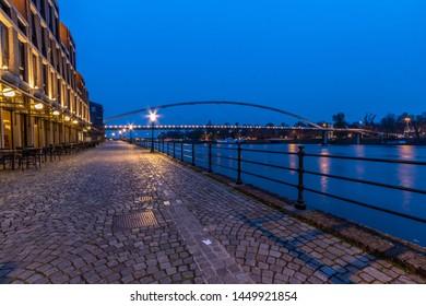 Maastricht old bridge in Netherland