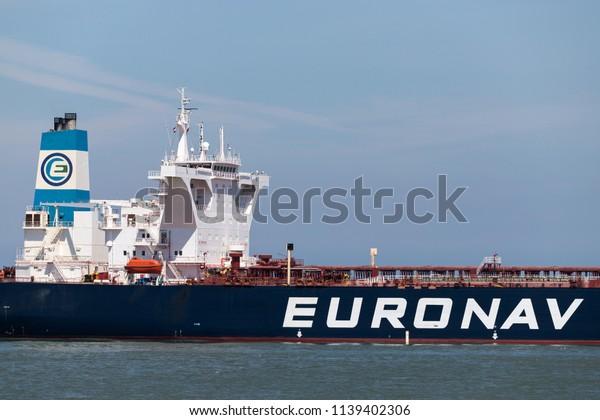 Maasvlakte Netherlands June 26 2018 Vlcc Stock Photo (Edit Now