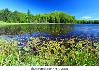 Mabel Lake in the Northern Highland American Legion State Forest of Wisconsin