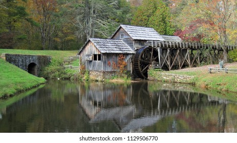 Mabry Mill Historic Site is a water wheel powered woodwork shop and grist mill located on The Blue Ridge Parkway at Mile Post 176, Meadows of Dan, Virginia