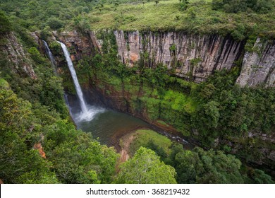 Mac Mac falls in the Sabie area, Panorama route, Mpumulanga in South Africa